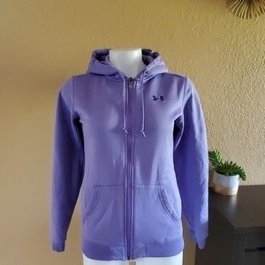 Under Armour hoodie jacket sz S full zip